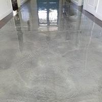 Slate Gray Metallic Epoxy Flooring Winter Park